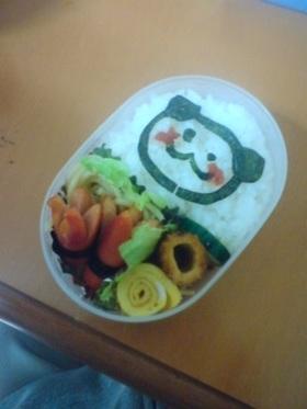 娘の幼稚園のお弁当2