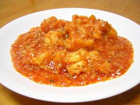 乾焼油酥大蝦(サクサク衣のエビチリ)