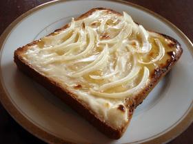 クリームチーズ♡トースト
