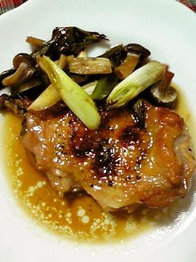 鶏モモ オーブンで照り焼き