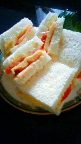 喫茶店流サンドイッチ!
