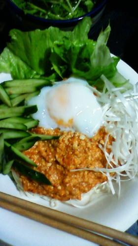 簡単☆豆腐でジャージャー麺