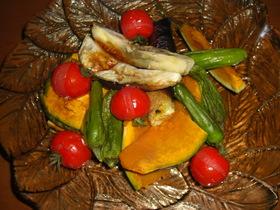 焼き野菜をイタリア~ンで