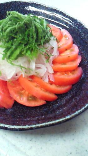 わが家のトマトの食べ方