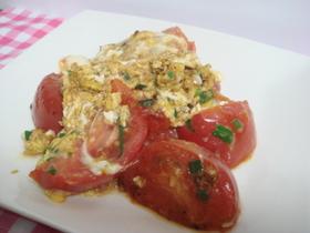 ☆トマトと卵の中華炒め☆