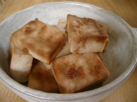 こってり❤高野豆腐 ダイエットお助け
