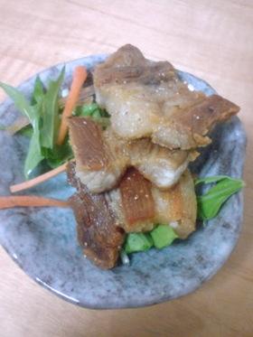 沖縄の味★スーチカー(豚バラの塩漬け)