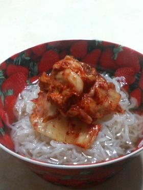 ダイエット蒟蒻冷麺