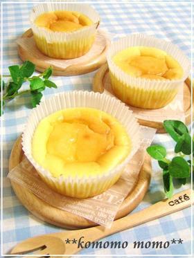 ホットケーキミックス♥爽やかチーズケーキ