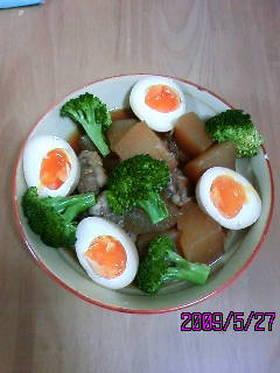 簡単☆圧力鍋でとろりん豚軟骨の角煮