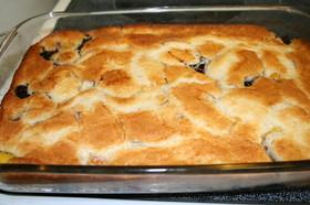 アメリカのパイ缶で作る簡単なコブラー
