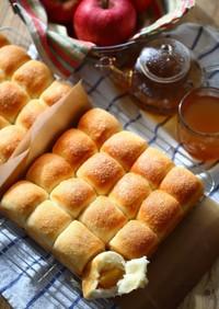 ゴロっと林檎♡シナモンシュガーバターパン