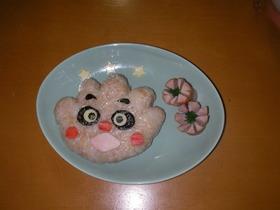 キャラご飯☆クリームパンダちゃん