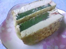 簡単!厚揚げちゃんの梅しそチーズはさみ焼