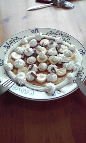 バナナハニーホットケーキ
