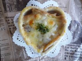 幸せ★ランチ (オニオングラタンスープ)