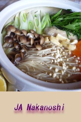夏鍋(水炊き)