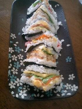 お寿司サンド