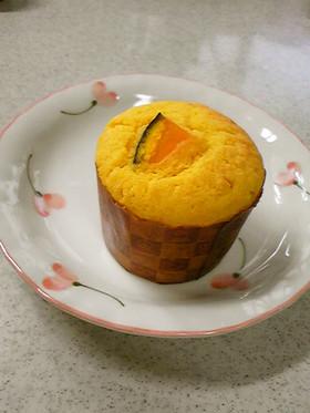 *かぼちゃのカップケーキ*