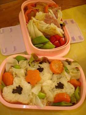 卵アレルギー1歳8ヶ月のお弁当♪