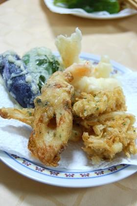 カレー風味の天ぷら
