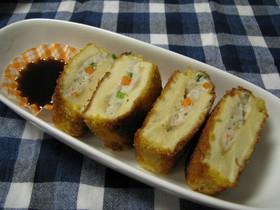 ジューシー高野豆腐フライ