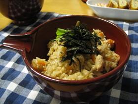 野菜たっぷり鶏五目飯