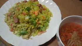 お野菜たっぷりスープ