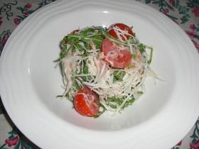 シャキシャキ妻大根とツナのサラダ