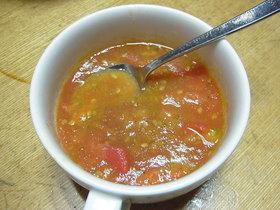 材料2つ?!トマトdeぽっかぽかスープ♥