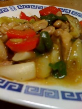 鶏の中華炒め