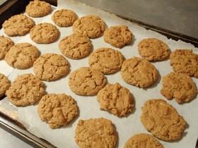 オートミール ピーナッツバター クッキー