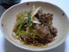 牛肉とたっぷりしらたきdeすき煮