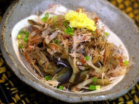 ★茄子素麺★