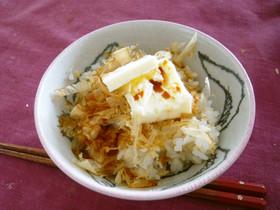 バター醤油で鰹節ご飯★