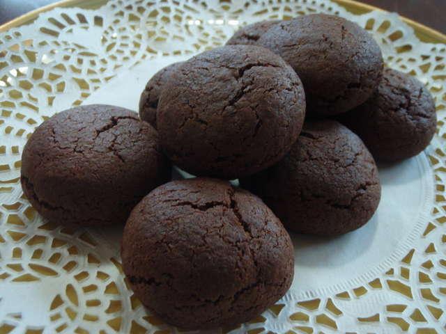 ココアクッキー ホットケーキミックス