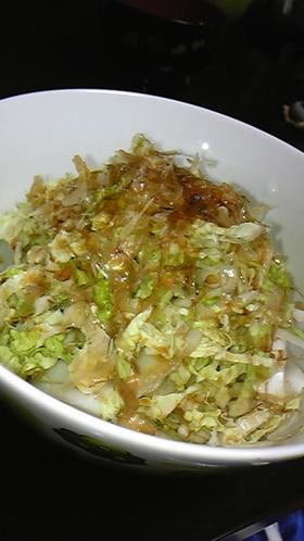 白菜だけ★さっぱりサラダ