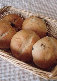 フランスパン用粉deレーズンくるみパン☆