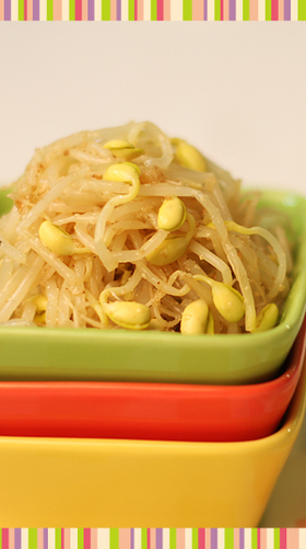 No.29 大豆もやしのナムル 韓国料理