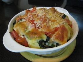 新ジャガ&トマト★ポパイのチーズ焼き