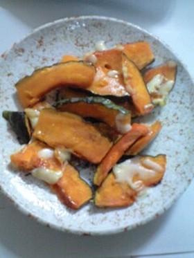 かぼちゃのオーブン焼き