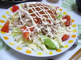 沖縄料理の定番・タコライス♪