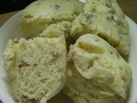 フルーツグラノーラ レンチン 蒸しパン