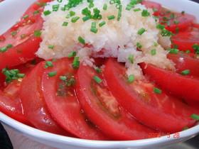 トマトの和風マリネ