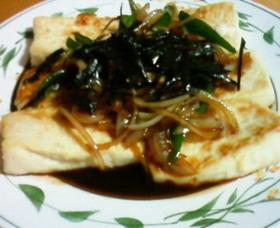 豆腐ソテー ガーリック風味