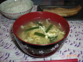 ☆美味しい にらたまスープ☆