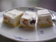 ラム酒の香り♪レアチーズケーキの写真