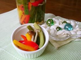 パリパリ! 野菜のマリネ風 ピクルス