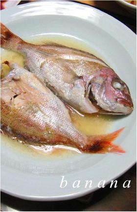 塩麹さんde鯛のレンジ蒸し