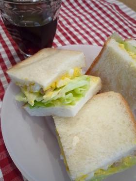 mamaランチ~酢大豆のサンドイッチ~